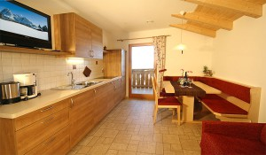 Living kitchen apartment Ortler